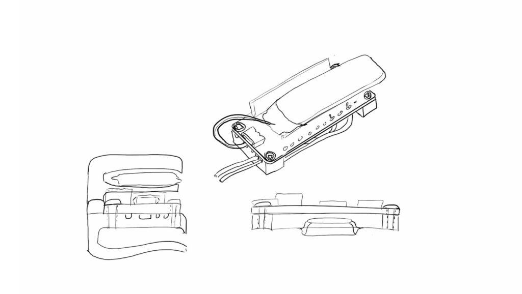 Design sketches of concept