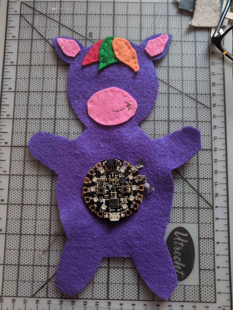 Unicorn Game Controller by Michelle B