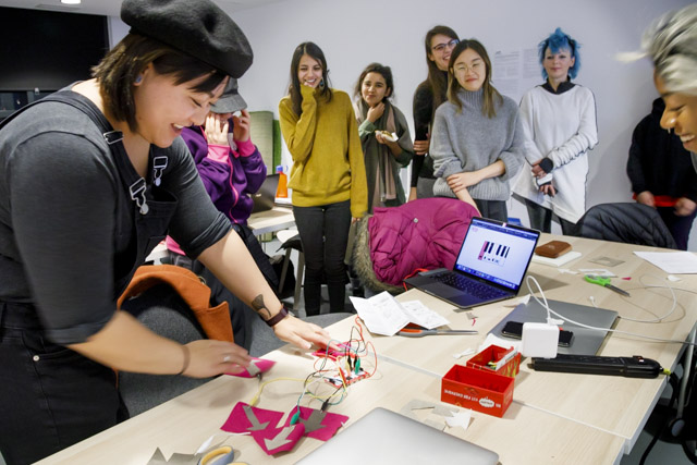 Image of Textile Game Controllers workshop